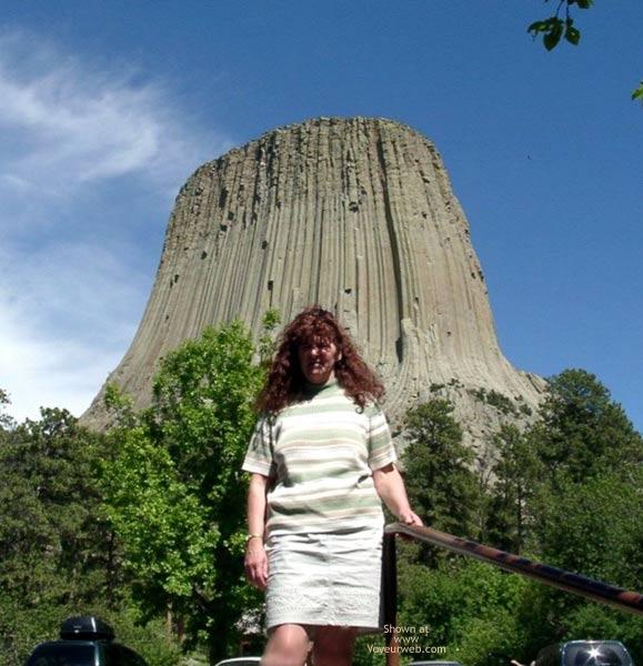 Pic #1 - Misti @ Devil's Tower