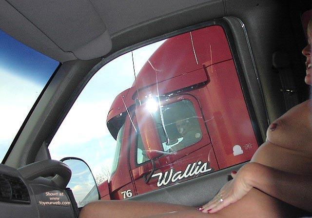Pic #1 - Flashingal'S New Truck Flashing Adventure