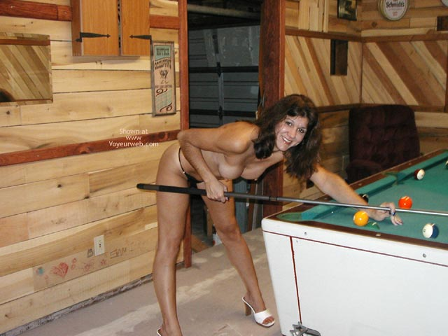 Pic #4 - Billiard Cutie