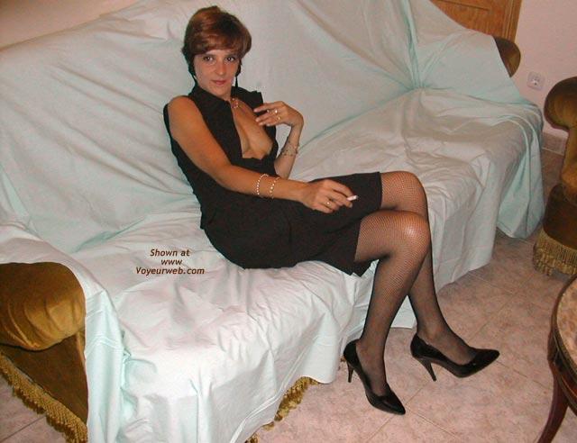 Pic #2 - Spanish Alicia, Black Stilettos
