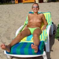 Julia at The Beach