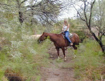 Pic #1 - Naked Horseback Riding
