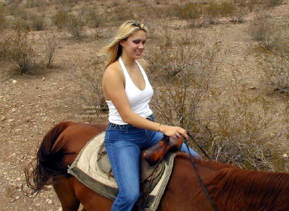Pic #5 - Naked Horseback Riding