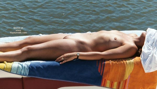 Pic #4 - *NT Wife Naked On The Boat