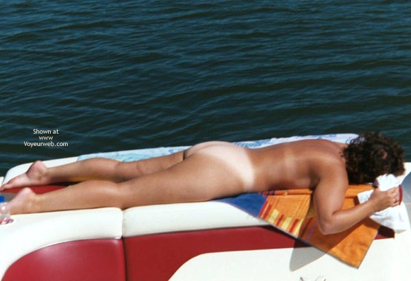 Pic #8 - *NT Wife Naked On The Boat