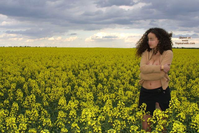 Pic #8 - Mlle A In The Field