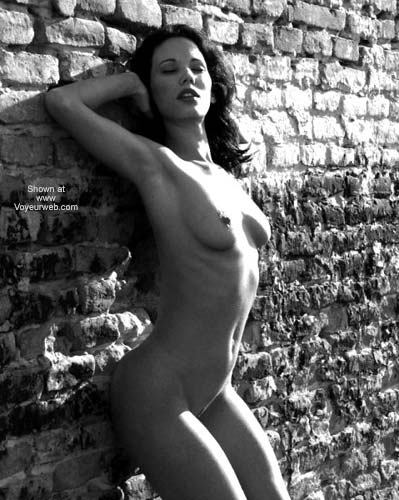 Pic #1 - Sexy Angelina - B&W Outdoors 2
