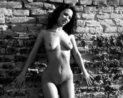 Pic #2 - Sexy Angelina - B&W Outdoors 2