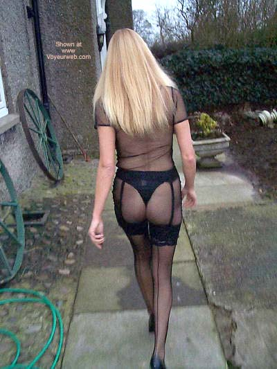Pic #7 - See Thru Dress and Stockings