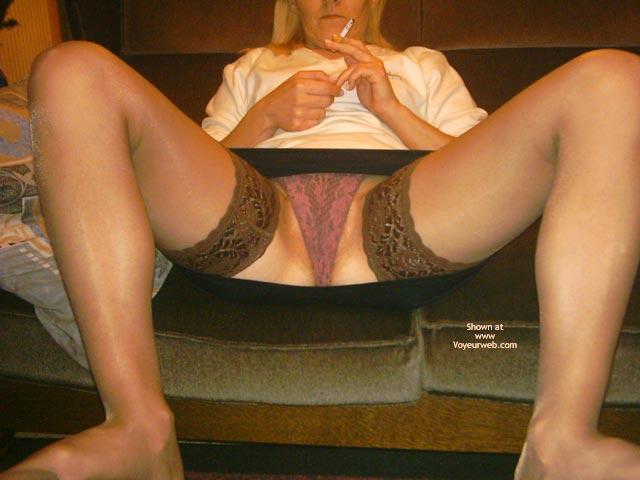 Pic #1 - My Wife In Mini Skirt