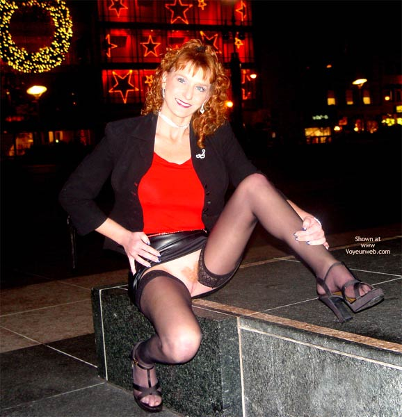 Pic #7 - Sandy Redhead Hot Pussy Cold Night In S.F