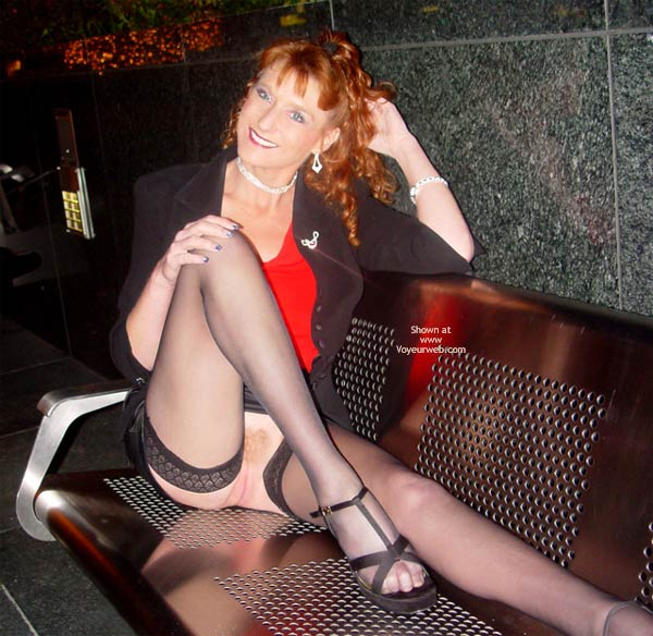 Pic #8 - Sandy Redhead Hot Pussy Cold Night In S.F