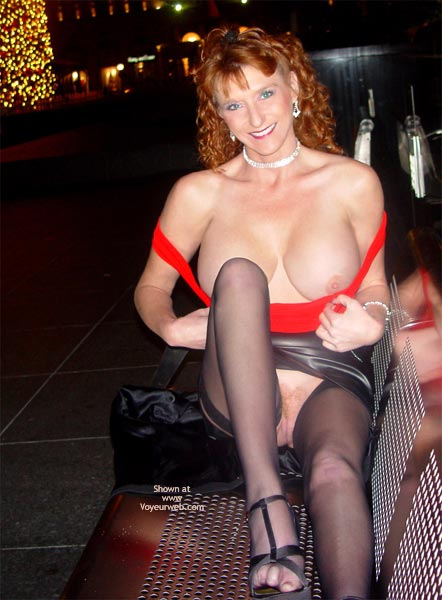 Pic #9 - Sandy Redhead Hot Pussy Cold Night In S.F