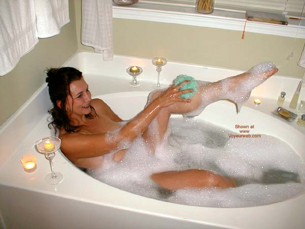 Pic #4 - *TU Claudia Takes A Bath