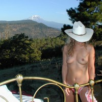 Checkered Panties - Cowboy Hat