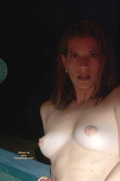 Pic #1 - Pamela Outside On Hotel Deck