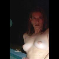 Pamela Outside On Hotel Deck