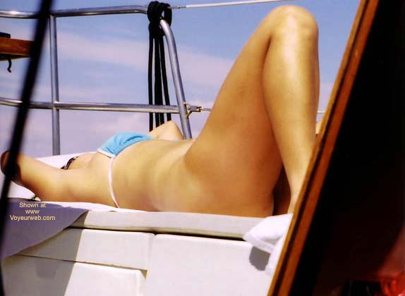 Pic #3 - Lani Tanning On The Boat