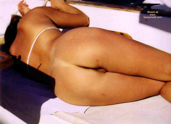 Pic #6 - Lani Tanning On The Boat