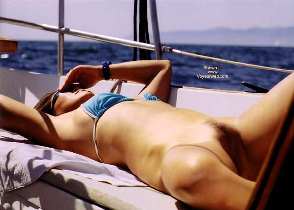 Pic #7 - Lani Tanning On The Boat
