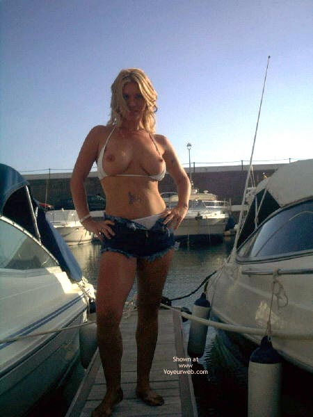 Pic #2 - Flashing by The Boats