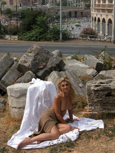 Pic #3 - Anastassia At Colosseum