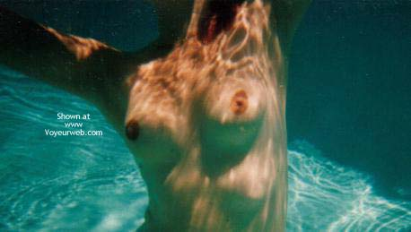 Pic #4 - Wife Underwater