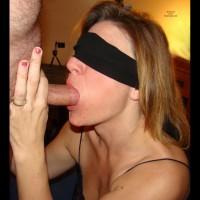 *BF Kaitlyn Blindfolded BJ