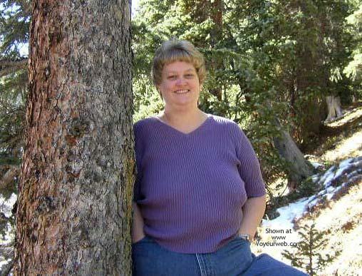 Pic #2 - Wife in The Rockies
