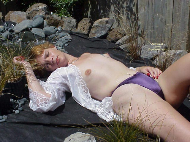 Pic #1 - Relaxing In The Garden