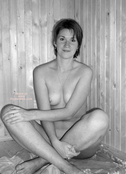 Pic #2 - This is My GF in Sauna