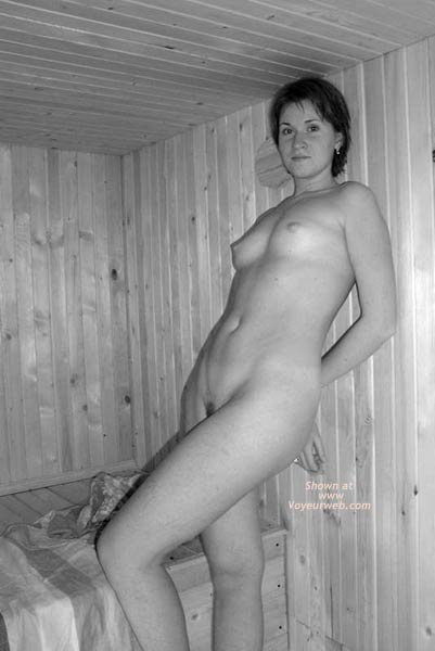 Pic #5 - This is My GF in Sauna