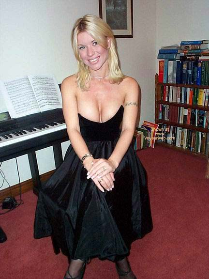 Pic #1 - My Large Breasts Popping Out of An Evening Dress