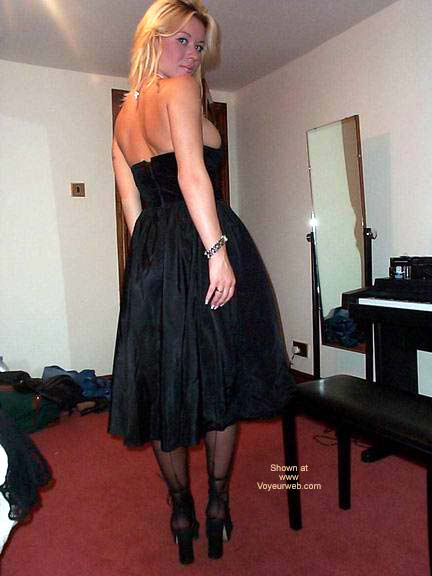 Pic #3 - My Large Breasts Popping Out of An Evening Dress