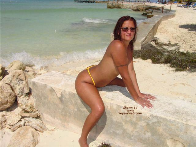 Pic #4 - Nude on the Beach