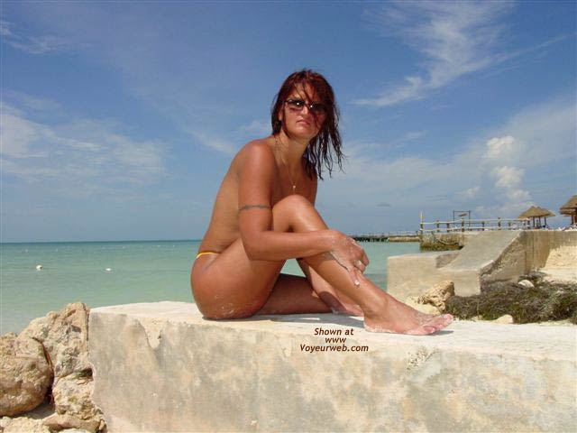 Pic #5 - Nude on the Beach