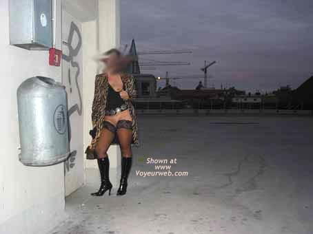 Pic #4 - Tanjana at Munich Parking Lot