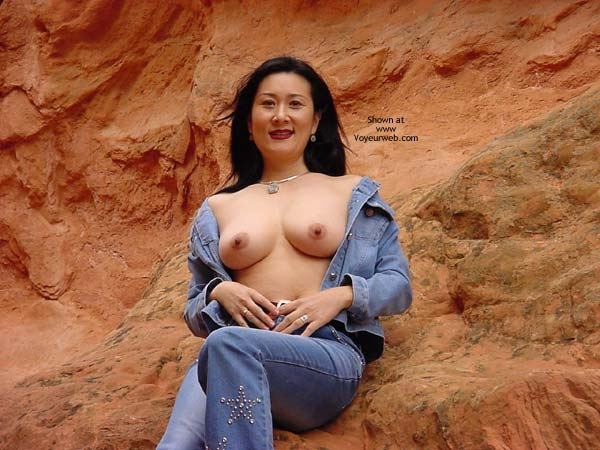 Pic #1 - Topless Girl In The Desert - Asian Girl, Black Hair, Flashing Tits, Showing Tits, Topless Outdoors , Topless Girl In The Desert, Asian Girl, National Park, Flashing Tits, Asian Showing Tits, Oriental, Desert Oriental Tits, Open Blouse, Black Hair, Asian, Topless Outdoors
