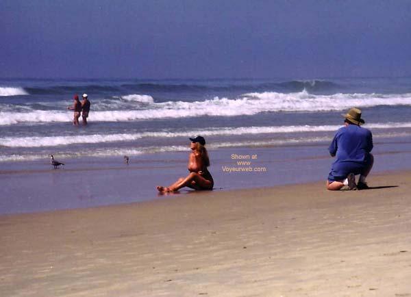 Pic #3 - Lani and Ki Nude at Blacks Beach 1
