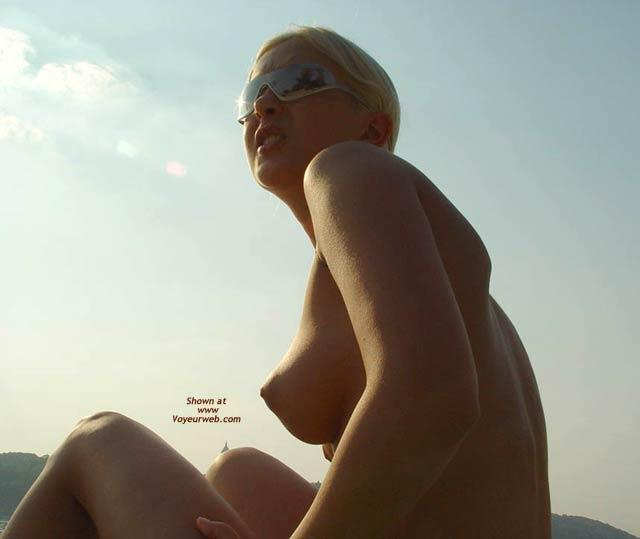 Think, puffy nipple beach girls