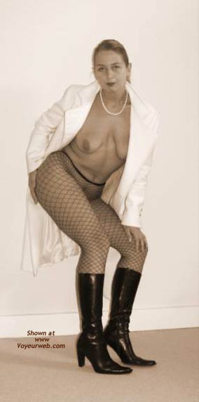 Pic #6 - Gabriela in Fishnet Stockings