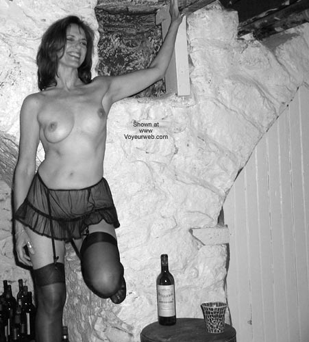 Pic #2 - Laila in The Wine Cellar