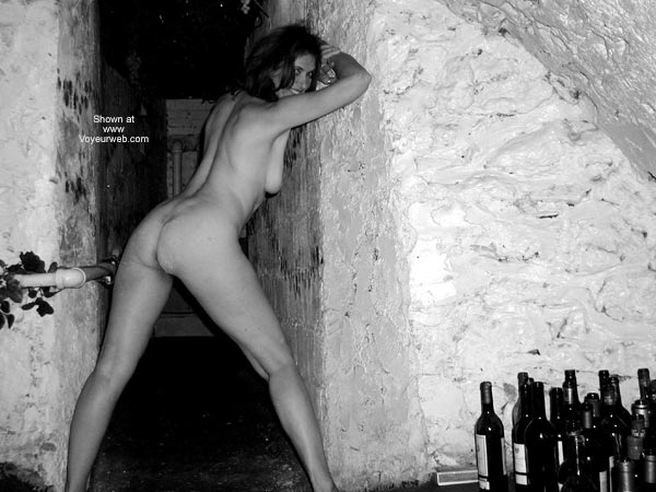 Pic #8 - Laila in The Wine Cellar