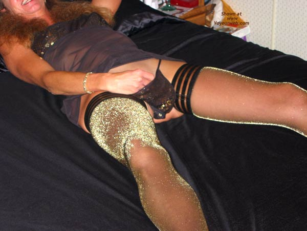 Pic #3 - Sally Sexy in Nylons