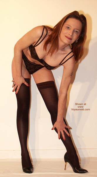 Pic #1 - Sexy in Black Stockings