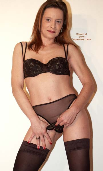Pic #5 - Sexy in Black Stockings