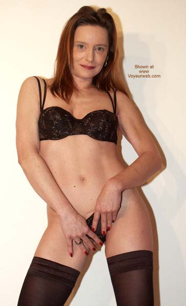 Pic #6 - Sexy in Black Stockings