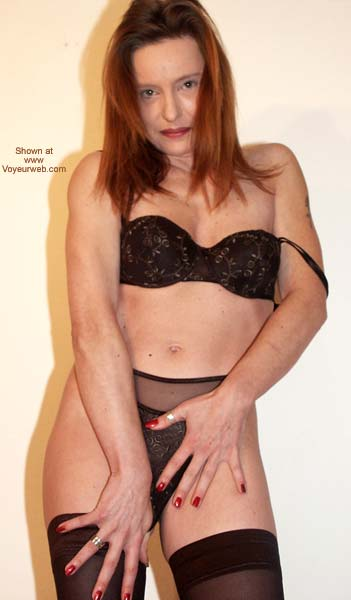 Pic #9 - Sexy in Black Stockings