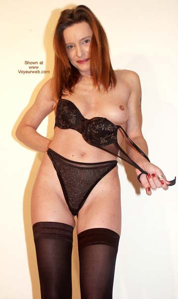 Pic #10 - Sexy in Black Stockings