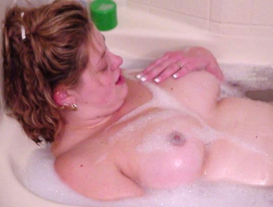 Pic #2 - *TU Debbie's Big Boobs In The Tub